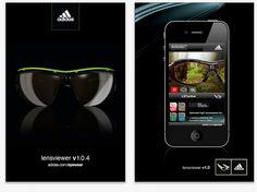 App para iphone de Adidas eyewear Adidas, Optician, Pad, Iphone App, Social Media Marketing, Eyewear, Smartphone, Deporte, App