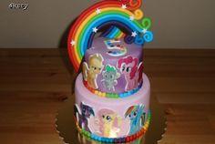Dětský dort My Little Ponny