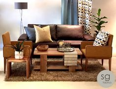 Love a leather couch but not quite sure how to style it up at home? Check out this easy guide to decorating a room around a leather couch. Stuart Graham, Home Decor Paintings, Cat Treats, Easy Crafts For Kids, Diy On A Budget, Home Decor Styles, Couch, Living Room, Interior Design