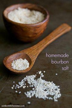 Bourbon salt (DIY)   yankeekitchenninja.com