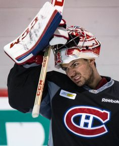 Carey Price, Montreal Canadiens Hockey Goalie, Hockey Players, Hershey Bears, Montreal Canadiens, Chicago Blackhawks, Espn, Cute Guys, Nhl, Reebok