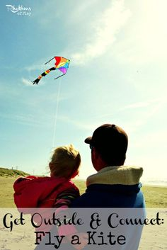 Fly a Kite -- a fun activity to do with kids!