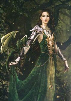 Elfe dragonnière