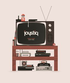 coryschmitz:  Joystiq Shirt (by cory schmitz) Shirt commisioned by video game blog Joystiq. Here is the Joystiq post.