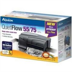 Aqueon QuietFlow 55/75 Turtle Fish Tank Bowl Aquarium Filter Pet Clean Supplies #Aqueon