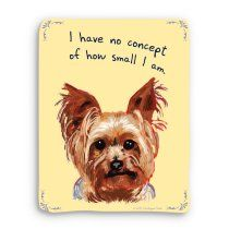 Small Yorkshire Terrier Print