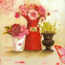 Bouquet Canvas Print B