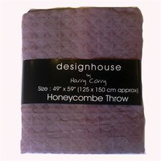 Honeycomb Heather Throw available to buy online from Harry Corry, a specialist of curtains and bedding. Harry Corry, Honeycomb, Bloom, Texture, Stuff To Buy, Design, Surface Finish, Design Comics