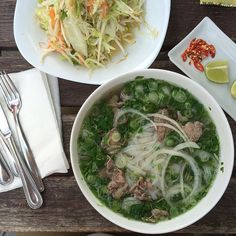 #Pho is always a good idea.  The #vietnamese #noodlesoup is #healthy and #nourishing. Our #local #restaurant offers a #traditional style with #ricenoodles and #beef.  | #vietnam #salad #eathealthy #eatclean #soup #foodlover #foodporn #foodie #asian #foodstagram #feedfeed #hotsoup #foodblog #healthyfood #healthydinner #dinner #suppe #nudelsuppe