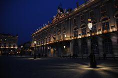 Stanislas Square in the night!