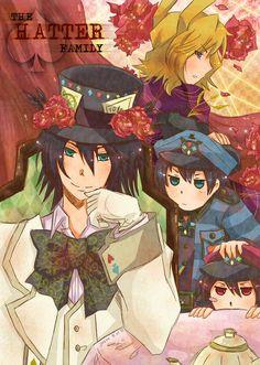Alice in the country of hearts / Heart no Kuni no Alice || anime boy