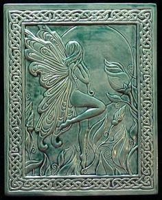 decorative celtic tile