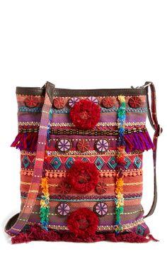 TOMS Multi Pattern Embellished Crossbody Bag