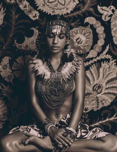 """Queen of Egypt"" photography Nicoline Patricia Malina model Zahara Davis"