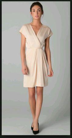 New Diane von furstenberg akari silk satin dress sz.10