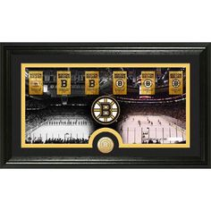 Boston Bruins ?Tradition? Minted Coin Pano Photo Mint