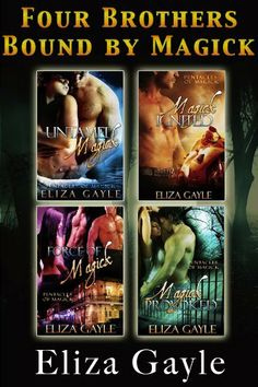 Eliza Gayle Witch Bundle (paranormal romance) by Eliza Gayle. $8.98. 284 pages. Author: Eliza Gayle. Publisher: Gypsy Ink Books (November 11, 2011)