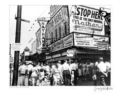 Coney Island Nathan's Hotdog Stand - Google Image Result for http://imgc.artprintimages.com/images/art-print/nathan-s-hot-dogs-coney-island-new-york-c-1960_i-G-51-5142-U1REG00Z.jpg
