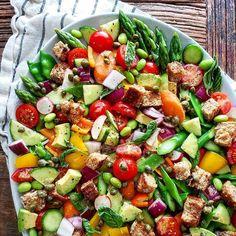 Meal Plan: June 13th by Clare Langan, | The Feedfeed Lamb Patties, Lamb Burgers, Hot Dog Recipes, Picnic Foods, Dinner Salads, Pasta Salad Recipes, Health Eating, Sweet And Spicy, Hawaiian Macaroni Salad
