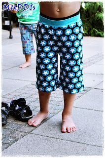 lillesol & pelle Schnittmuster/ pattern: Freizeithose
