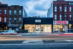 Kickin' It: Kith Brooklyn Gets Renovated by Snarkitecture | Stainless-steel signage cut by water jet. #design #interiordesign #interiordesignmagazine #projects #retail