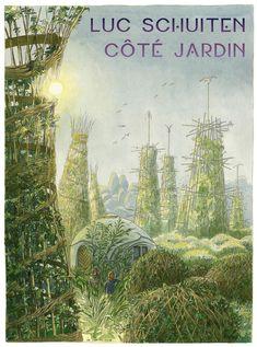 Claude Nicolas Ledoux, Arcology, Eco City, Futuristic City, Organic Architecture, Garden Landscape Design, Dream City, Expositions, Retro Futurism