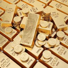 Many people love gold but aren't truly familiar with it. This makes it difficult to get all the financial advantages of gold. When investing in gold, bullion Gold Bullion Bars, Bullion Coins, Silver Bullion, Aesthetic Backgrounds, Aesthetic Wallpapers, Gold Reserve, Gold Home Accessories, Money Stacks, Brown Aesthetic