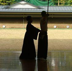 Sensei kyudo Nakano Kekichi Judan Hanshi.