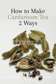 Cardamom is a well-known spice that has long been a staple in Middle Eastern and Asian cuisine. It can also be used to brew up a delightfully spicy tea. Read on to find out how to brew cardamom tea into a refreshing and robust brew. Cardamom Tea Recipe, Cardamom Plant, Chai Recipe, Cardamom Benefits, Tea Benefits, Black Tea Leaves, Afternoon Tea Recipes, New Flavour, Recipes