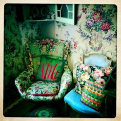 Can't get enough chintz.