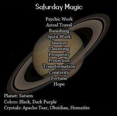 Magick Spells:  Saturday #Magic.