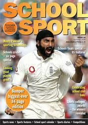 Latest copies of this magazine can be found in School Library. Read about sport news and features across a wide range of school sports.  Ask the Librarians to help you find them.