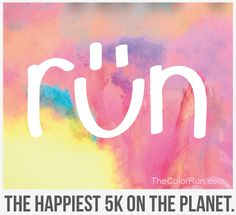 Smile, Color Runners! #TheColorRun  #PaintRace