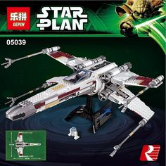74.99$  Buy now - http://alim3z.shopchina.info/go.php?t=32791048754 - LEPIN 05039 Star Wars series The red five X-Wing starfighter Model Building Blocks classic Compatible 10240 Toys for children 74.99$ #buyininternet