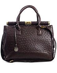 Spot Handbag - NYPD - Dark brown - Bags - Accessories - NELLY.COM UK