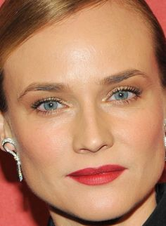 Close-up of Diane Kruger at the 2015 Night of Stars Gala.