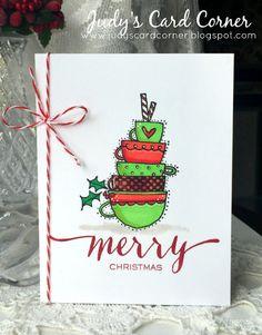 Judy's Card Corner: Winter Coffee Lover's Blog Hop - Day 8