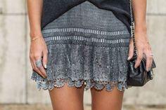 Sophia Alckmin, do blog www.bettys.com, veste saia de crochê GIOVANA DIAS: http://www.giovanadiascrochet.com.br/