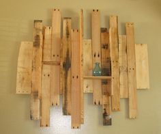 Pallet wall art - Made by my talented brother-in-law! | DIY