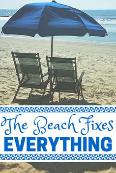 The #beach fixes everything. #quotes