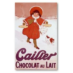Vintage Poster - Cailler Chocolat