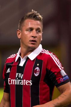 Philippe Mexes, French footballer who plays as a centre backr for AC Milan, an Italian club. He also plays for French National Football Team. In the past, he has played with Auxerre and Roma.
