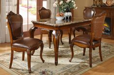 Classical American style dining table - MelodyHome.com