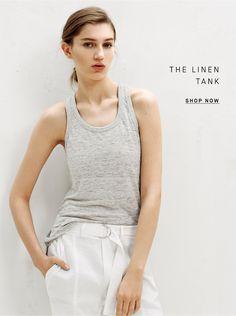 The linen tank