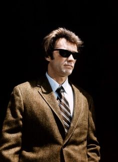 Clint Eastwood in Dirty Harry (1971, dir.Don Siegel)