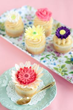Jane Austen inspired cupcakes from Lulu's Sweet Secrets.