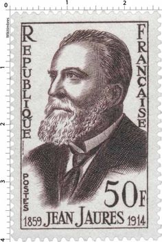 Timbre 1959 : JEAN JAURÈS 1859-1914 | WikiTimbres