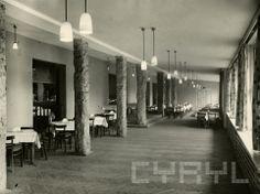 Restauracja Wypoczynkowa w parku Sołackim (dzisiaj Meridian)