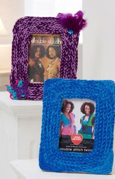 Best Free Crochet » Free Whirly Picture Frame Crochet Pattern from RedHeart.com #266 6/10/13