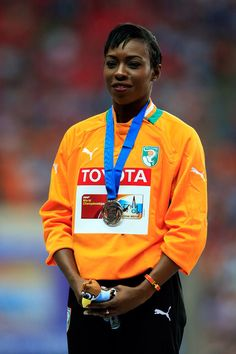 Athletic crush - Murielle Ahoure